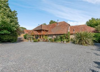 Thumbnail 6 bed barn conversion for sale in Turnpike Road, Rackham, Pulborough, West Sussex