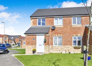 Thumbnail 3 bed semi-detached house to rent in Dewhirst Close, Leadgate, Consett