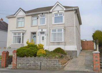 Thumbnail 3 bedroom semi-detached house for sale in Pencaecrwn Road, Swansea