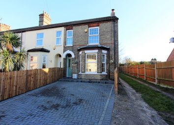 Thumbnail 3 bed end terrace house for sale in Carlton Road, Lowestoft