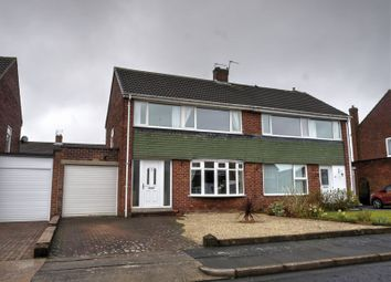 Thumbnail 3 bed semi-detached house for sale in Broadstone Grove, Chapel House, Newcastle Upon Tyne