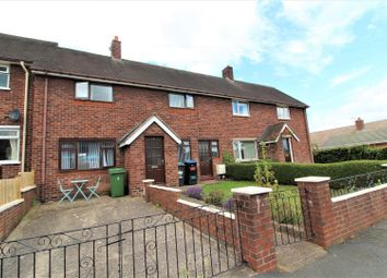 Thumbnail 3 bed terraced house for sale in The Groves, Marchwiel, Wrexham