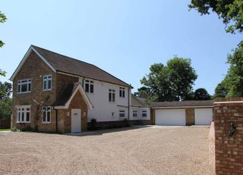 Thumbnail 4 bed detached house to rent in Church Lane, Stoke Poges, Slough