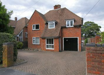 Thumbnail 4 bed detached house for sale in Bishops Way, Andover