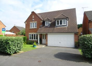 Thumbnail 4 bed detached house for sale in Sunningdale Road, Coalville, Leicestershire