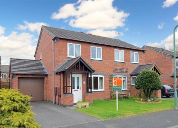 Thumbnail 3 bed semi-detached house to rent in Curia Close., Abbey Dale, Shrewsbury