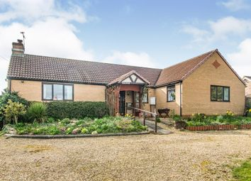 Thumbnail 3 bed detached bungalow for sale in Main Street, Ingoldsby, Grantham