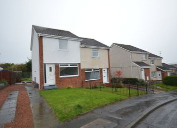 Thumbnail 2 bed semi-detached house for sale in Hazel Avenue, Dumbarton