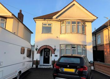Thumbnail 3 bed detached house for sale in Leybourne Avenue, Northbourne, Bournemouth