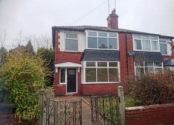 Thumbnail 3 bed semi-detached house to rent in 1 Park Avenue, Manchester, Lancashire
