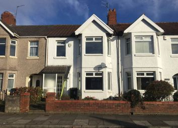 Thumbnail 3 bed terraced house for sale in Brunswick Street, Canton, Cardiff