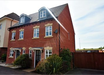 Thumbnail 3 bed semi-detached house for sale in Shore View, Peterborough