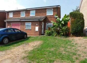 Thumbnail 4 bed semi-detached house for sale in Elizabeth Way, Stowmarket