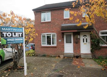 Thumbnail 3 bed semi-detached house to rent in Norwood Grove, Harrogate