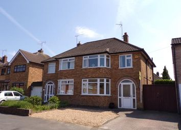 Thumbnail 3 bed semi-detached house for sale in Ruskington Drive, Wigston, Leicester, Leicestershire