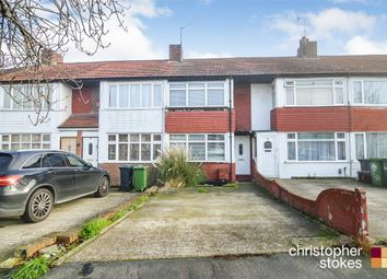Thumbnail 2 bedroom terraced house for sale in Queens Drive, Waltham Cross, Hertfordshire