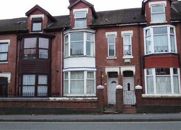 Thumbnail 3 bed terraced house to rent in Waterloo Road, Hanley, Stoke-On-Trent