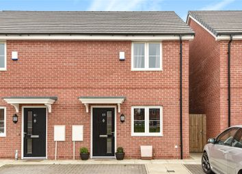 Thumbnail 2 bed semi-detached house for sale in Arnhem Way, Donington