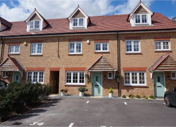 Thumbnail 4 bed terraced house for sale in Conveyor Drive, Rochester