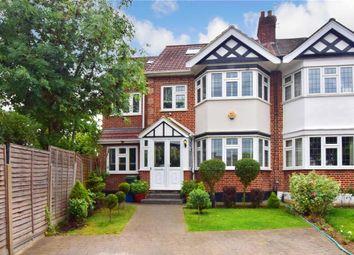 Thumbnail 5 bed semi-detached house for sale in Burnham Crescent, London