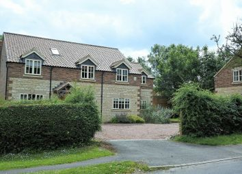 Thumbnail 5 bed detached house to rent in Rectory Lane, Barrowby, Grantham