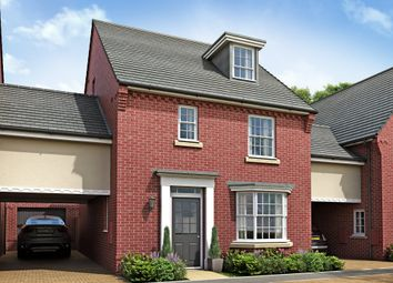 "Thumbnail 4 bed link-detached house for sale in ""Bayswater"" at Sir Williams Lane, Aylsham, Norwich"
