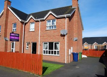 Thumbnail 3 bed semi-detached house for sale in Hillcrest, Lurgan