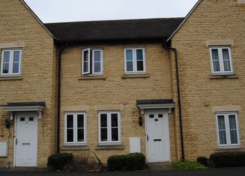Thumbnail 3 bed terraced house to rent in Ashcombe Crescent, Witney, Oxon