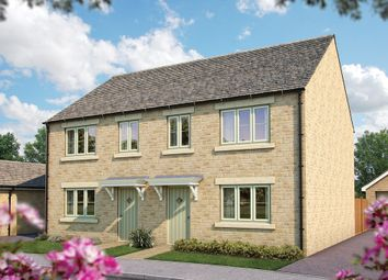 "Thumbnail 3 bed semi-detached house for sale in ""The Hazel"" at Todenham Road, Moreton-In-Marsh"