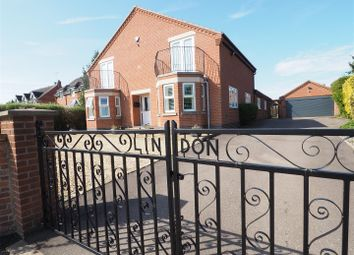 Thumbnail 4 bed detached house for sale in Lindon, Marsh Lane, North Muskham, Newark