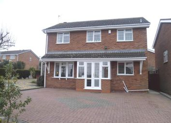 Thumbnail 3 bed detached house to rent in Cheriton Grove, Perton, Wolverhampton
