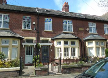 Thumbnail 4 bed terraced house for sale in Ventnor Gardens, Whitley Bay