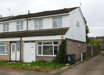 Thumbnail 3 bed end terrace house for sale in Hockwell Ring, Luton