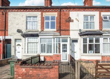 Thumbnail 2 bed terraced house to rent in Moat Street, Wigston, Leicestershire