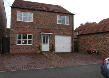 Thumbnail 4 bedroom detached house to rent in Ferry Close, Hemingbrough, Selby