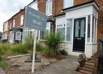 Thumbnail 4 bedroom end terrace house to rent in Harborne Park Road, Harborne, Birmingham