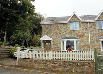 Thumbnail 3 bed semi-detached house for sale in Llwyngwril