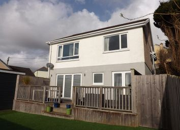 Thumbnail 3 bed detached house for sale in Belmont Road, St. Austell