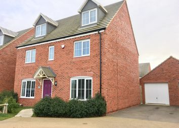 Thumbnail 5 bed detached house for sale in Mayfly Road, Pineham, Northampton