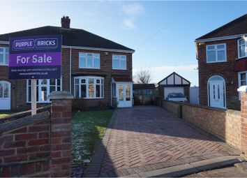 Thumbnail 3 bed semi-detached house for sale in Stanhope Place, Cleethorpes