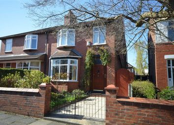 Thumbnail 4 bed semi-detached house for sale in Alma Road, Heaton Moor, Stockport, Greater Manchester