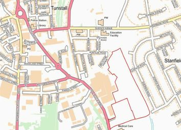 Thumbnail Land for sale in Scotia Road, Stoke-On-Trent, Staffordshire