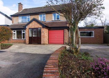 Thumbnail 4 bed detached house for sale in Brookside, Northwich, Cheshire