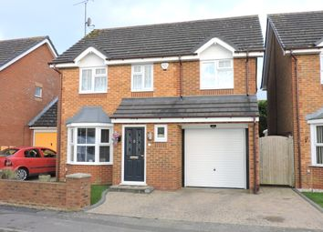 Thumbnail 4 bedroom detached house for sale in Sacombe Green, Luton