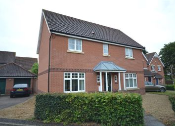 Thumbnail 4 bed detached house for sale in Easton, Norwich