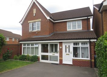 Thumbnail 4 bed detached house for sale in Poppy Drive, Walsall
