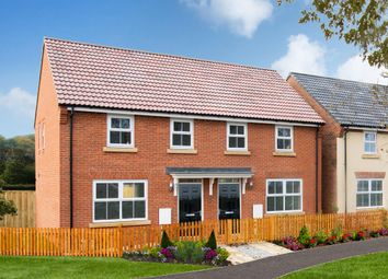 "Thumbnail 3 bed semi-detached house for sale in ""Archford"" at Northern Way, Bury St Edmunds"