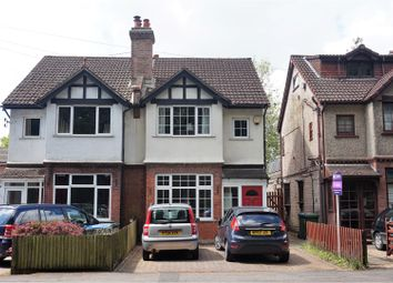Thumbnail 3 bed semi-detached house for sale in Hill Lane, Southampton