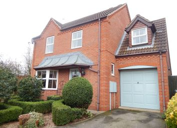 Thumbnail 4 bed detached house for sale in Swift Way, Thurlby, Bourne