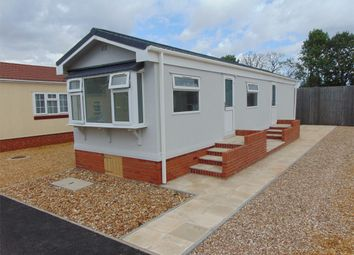 Thumbnail 1 bedroom mobile/park home for sale in Main Road, West Winch, King's Lynn